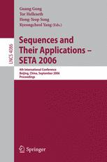 Sequences and Their Applications – SETA 2006
