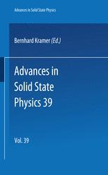 Advances in Solid State Physics 39