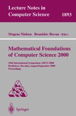 Mathematical Foundations of Computer Science 2000
