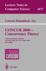 CONCUR 2000 — Concurrency Theory