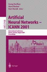 Artificial Neural Networks — ICANN 2001