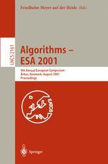 Algorithms — ESA 2001