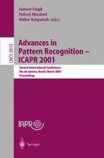 Advances in Pattern Recognition — ICAPR 2001