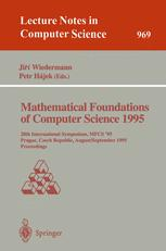 Mathematical Foundations of Computer Science 1995