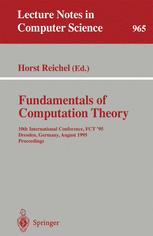 Fundamentals of Computation Theory