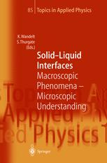 Solid—Liquid Interfaces