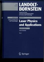 Laser Physics and Applications