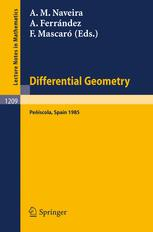 Differential Geometry Peñíscola 1985