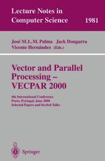 Vector and Parallel Processing — VECPAR 2000