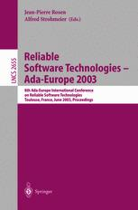 Reliable Software Technologies — Ada-Europe 2003