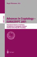 Advances in Cryptology — EUROCRYPT 2001
