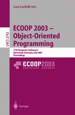 ECOOP 2003 – Object-Oriented Programming