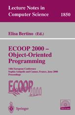 ECOOP 2000 — Object-Oriented Programming