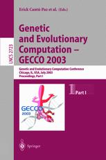 Genetic and Evolutionary Computation — GECCO 2003