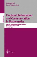 Electronic Information and Communication in Mathematics