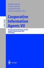 Cooperative Information Agents VII
