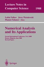 Numerical Analysis and Its Applications