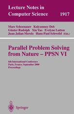 Parallel Problem Solving from Nature PPSN VI