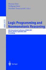 Logic Programming and Nonmotonic Reasoning