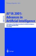 AI*IA 2001: Advances in Artificial Intelligence