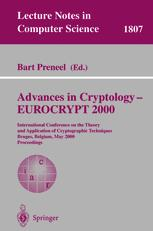 Advances in Cryptology — EUROCRYPT 2000
