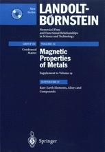 Rare Earth Elements, Alloys and Compounds