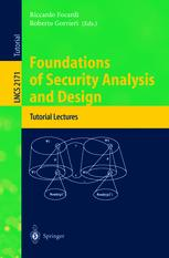 Foundations of Security Analysis and Design