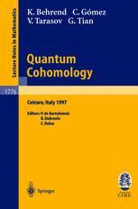 Quantum Cohomology