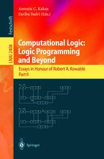 Computational Logic: Logic Programming and Beyond