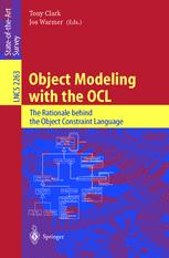 Object Modeling with the OCL