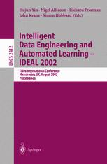 Intelligent Data Engineering and Automated Learning — IDEAL 2002