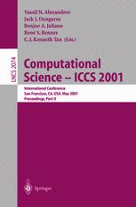 Computational Science - ICCS 2001