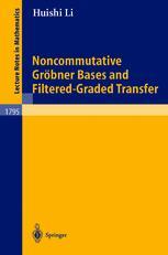 Noncommutative Gröbner Bases and Filtered-Graded Transfer
