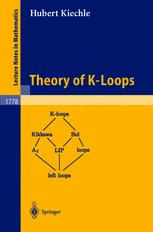 Theory of K-Loops