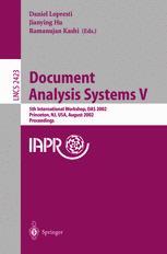 Document Analysis Systems V