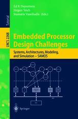 Embedded Processor Design Challenges