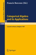 Categorical Algebra and its Applications
