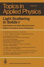 Light Scattering in Solids V
