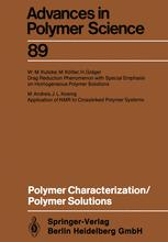 Polymer Characterization/Polymer Solutions