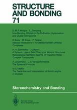 Stereochemistry and Bonding