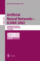 Artificial Neural Networks — ICANN 2002