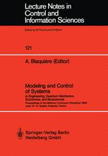 Modeling and Control of Systems