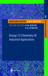 Group 13 Chemistry III