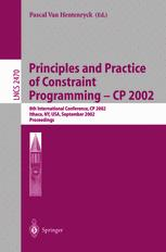 Principles and Practice of Constraint Programming - CP 2002