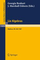 Lie Algebras, Madison 1987