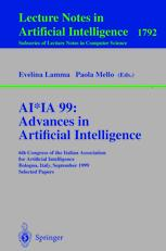 AI*IA 99: Advances in Artificial Intelligence