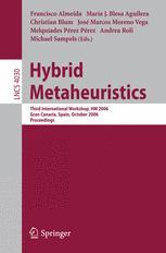 Hybrid Metaheuristics