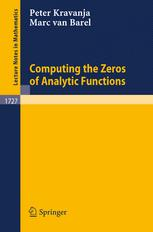 Computing the Zeros of Analytic Functions