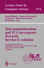 Telecommunications and IT Convergence Towards Service E-volution