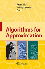Algorithms for Approximation